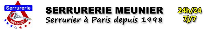 Serrurerie Paris - Dépannage serrurier 24/7